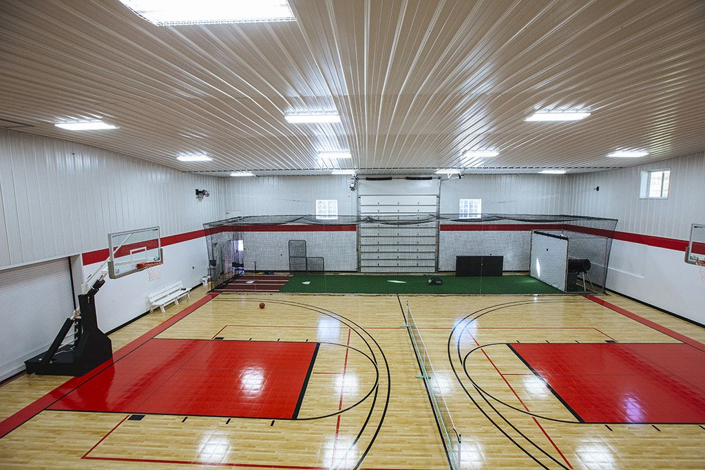 Pin By Haley Einerson On Future Home Hobby Building Home Basketball Court Morton Building