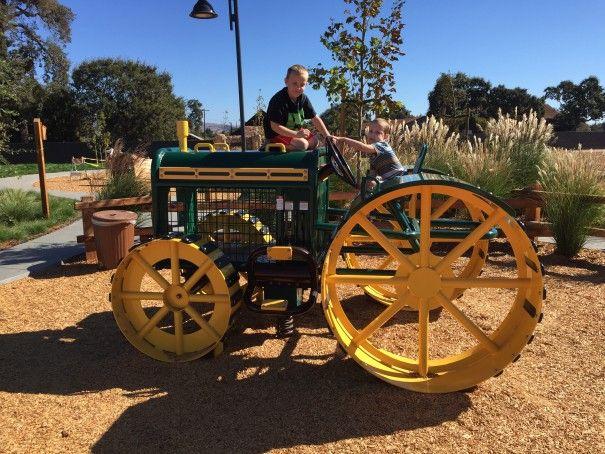Fall in Love at the Harvest Festival Park equipment