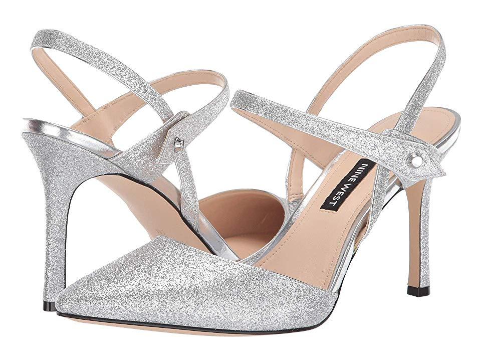 Nine West Emmep Women S Shoes Silver In 2019 Nine West Silver Shoes Shoes