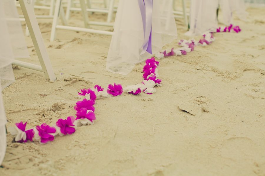 Floral Patterns along the Aisle Floor...