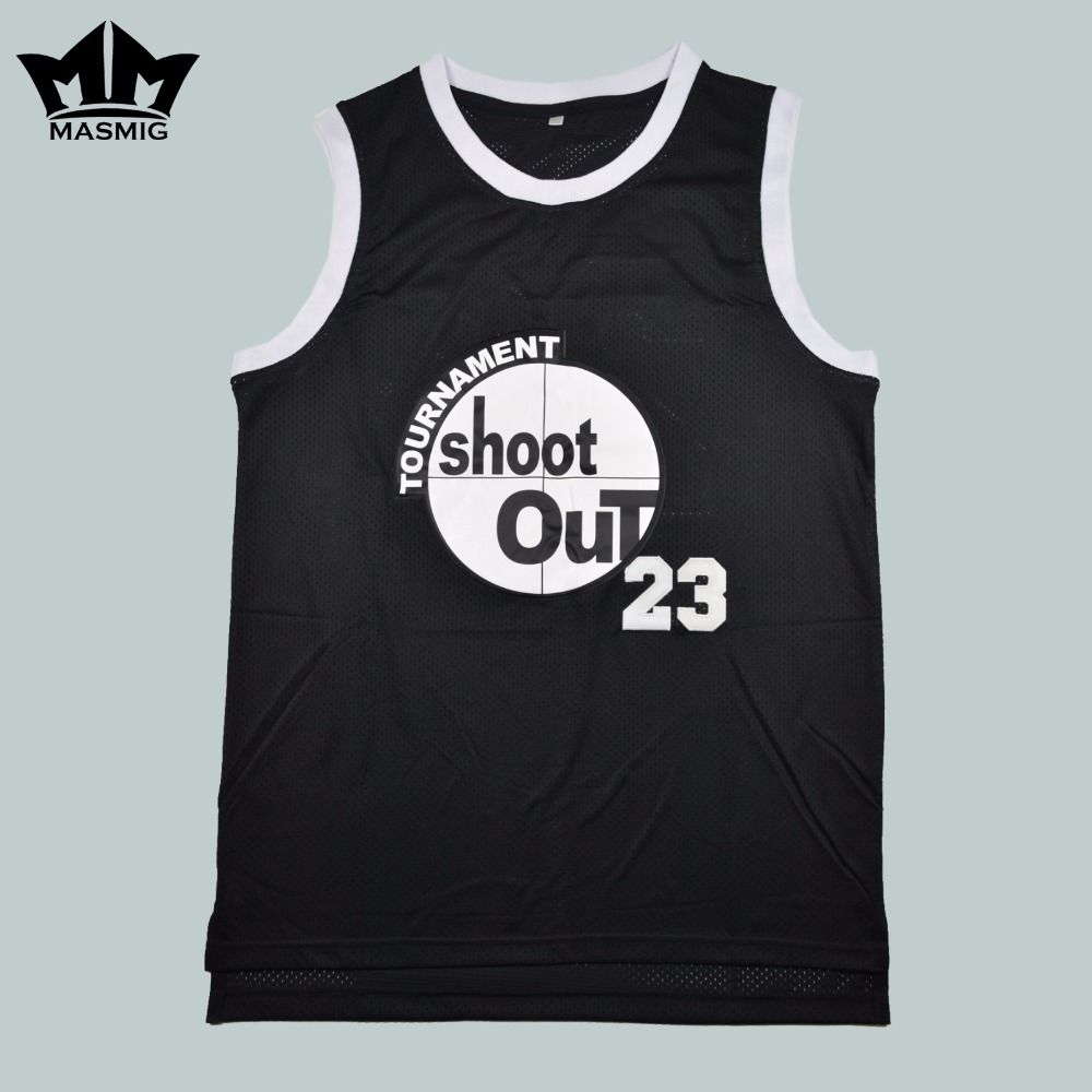 085a6c9dbe6 MM MASMIG Above The Rim Motaw 23 Tournament Shoot Out Basketball Jersey  Black For Free Shipping S M L XL XXL XXXL