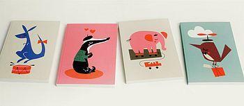 Animal notebooks