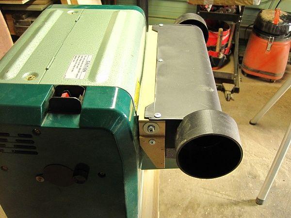 Hitachi P12RA Planer - DIY Dust Hood | Tools | Pinterest | Woodworking