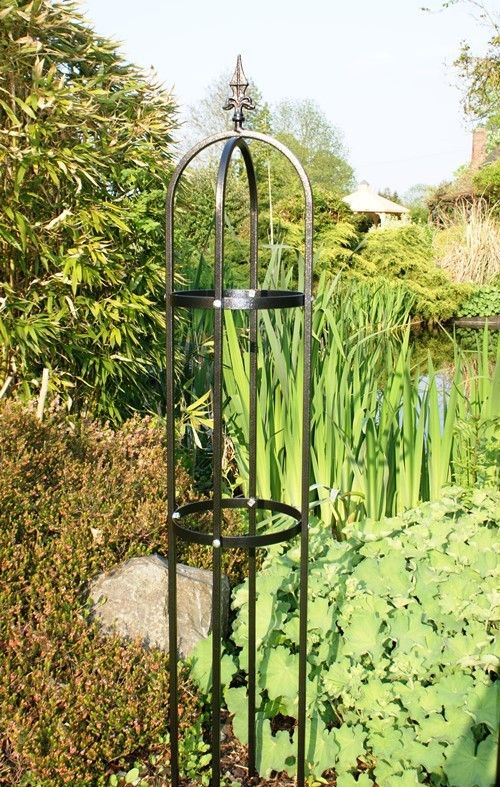 Traditional Tower Metal Plant Support For More Great Products Visit Www Gardeningthyme Co Uk