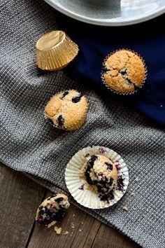 Versüß' dir den Montag: mit Blaubeermuffins | Foodlovin'