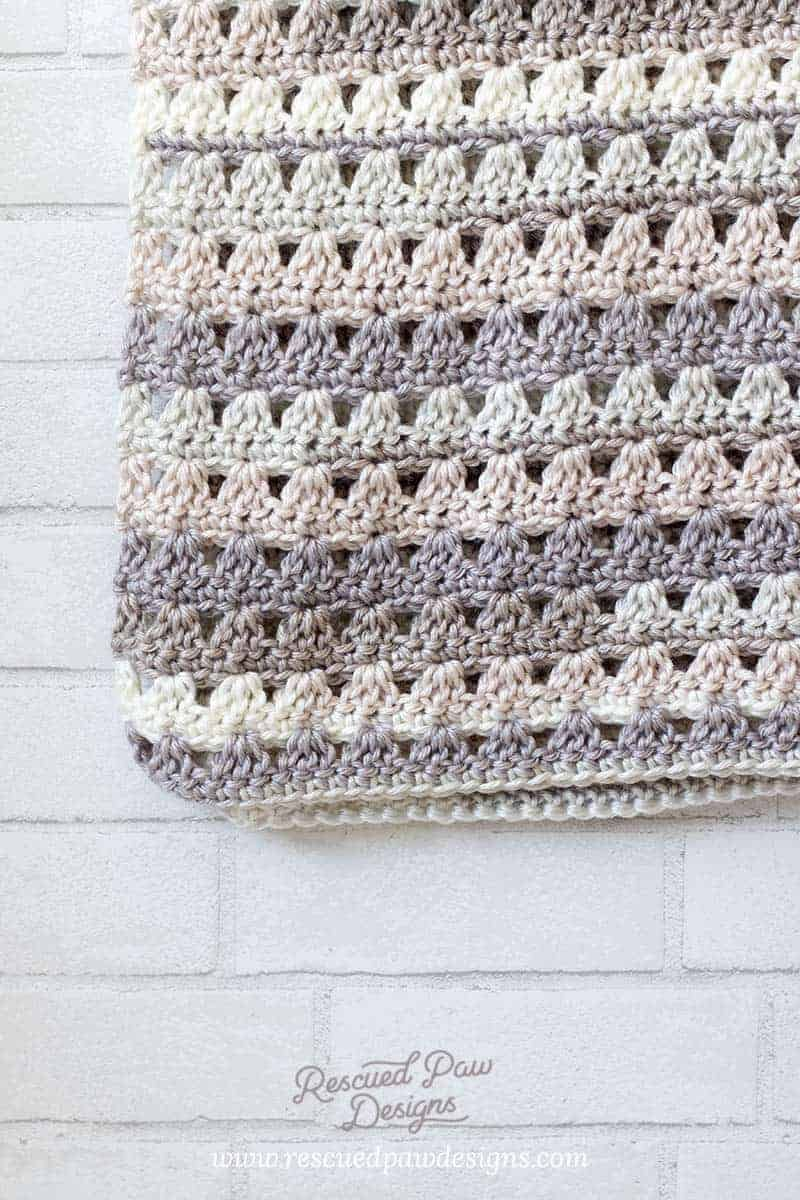 Alissa Easy Crochet Throw Blanket images