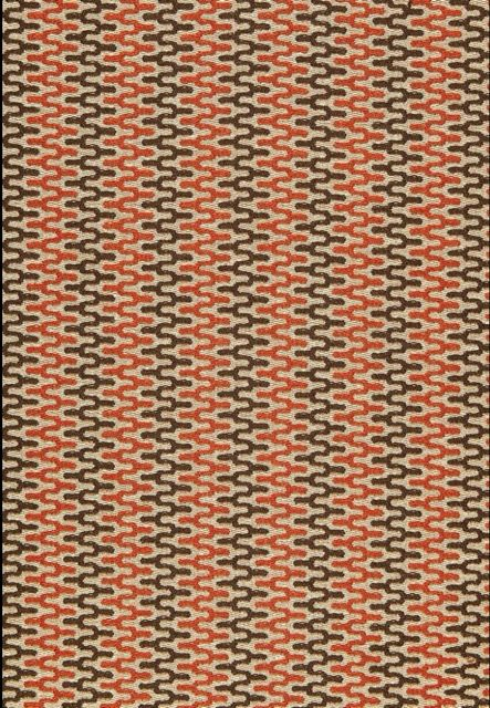 Rivington Weave Red Earth 65651 By Schumacher Fabric Parker