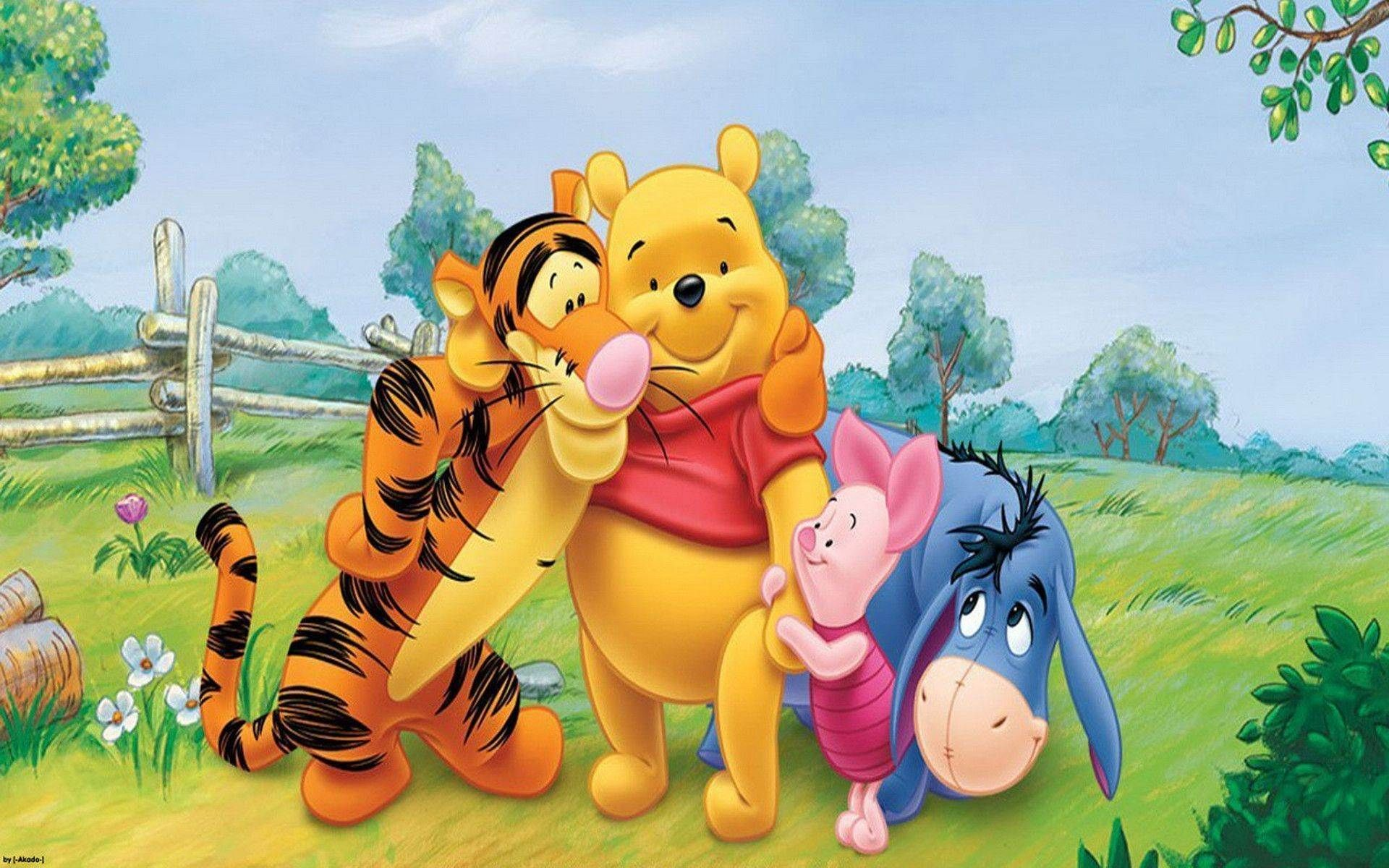 Winnie The Pooh And Friends Wallpapers Wallpaper Disney Winnie The