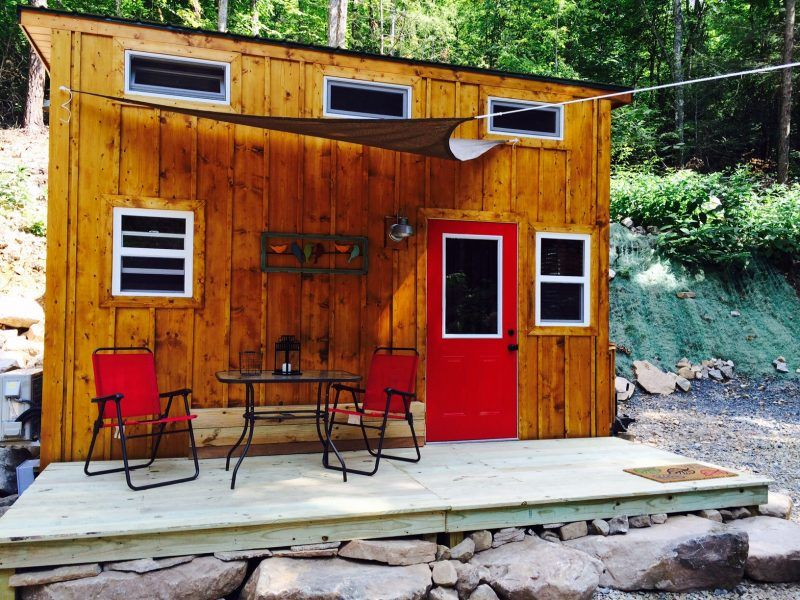 Enjoyable Tiny Fox Cabin By Incredible Tiny Homes Is Ready To Be Download Free Architecture Designs Estepponolmadebymaigaardcom