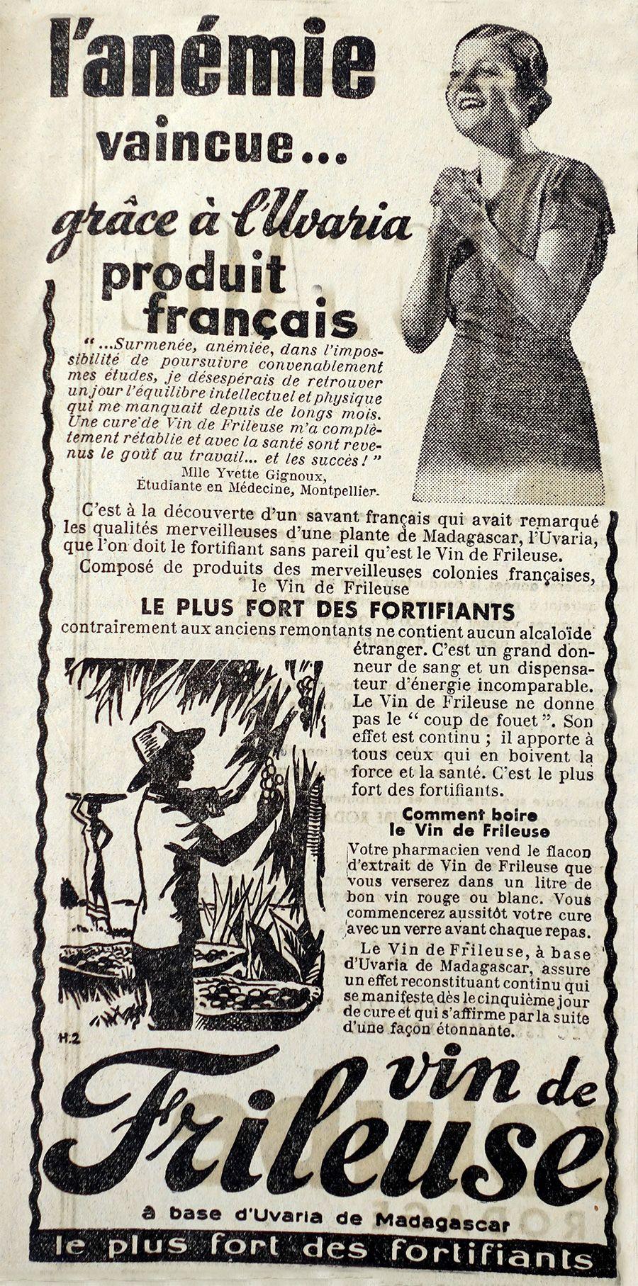 """Résultat de recherche d'images pour """"VIN DE FRILEUSE"""""""