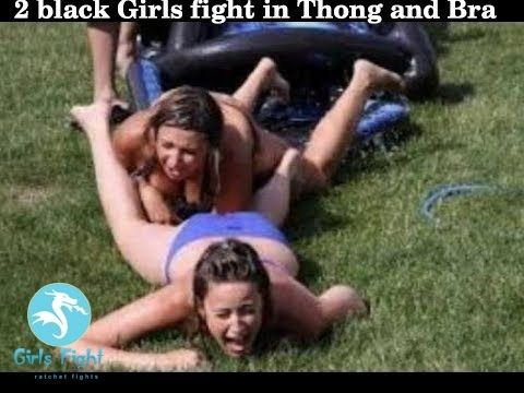 girl fight thong