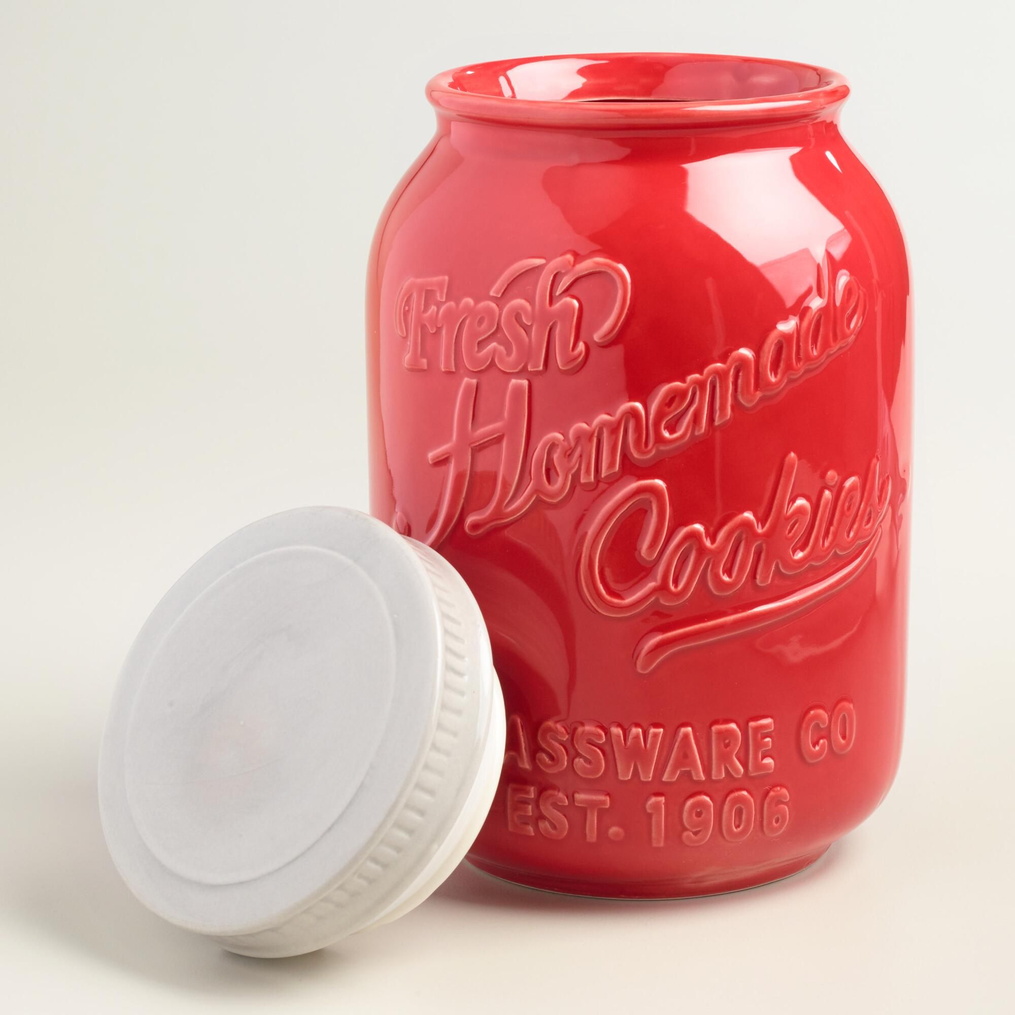 Airtight Cookie Jar Mesmerizing A Great Gift For Collectors Our Retrochic Ceramic Cookie Jar Design Ideas