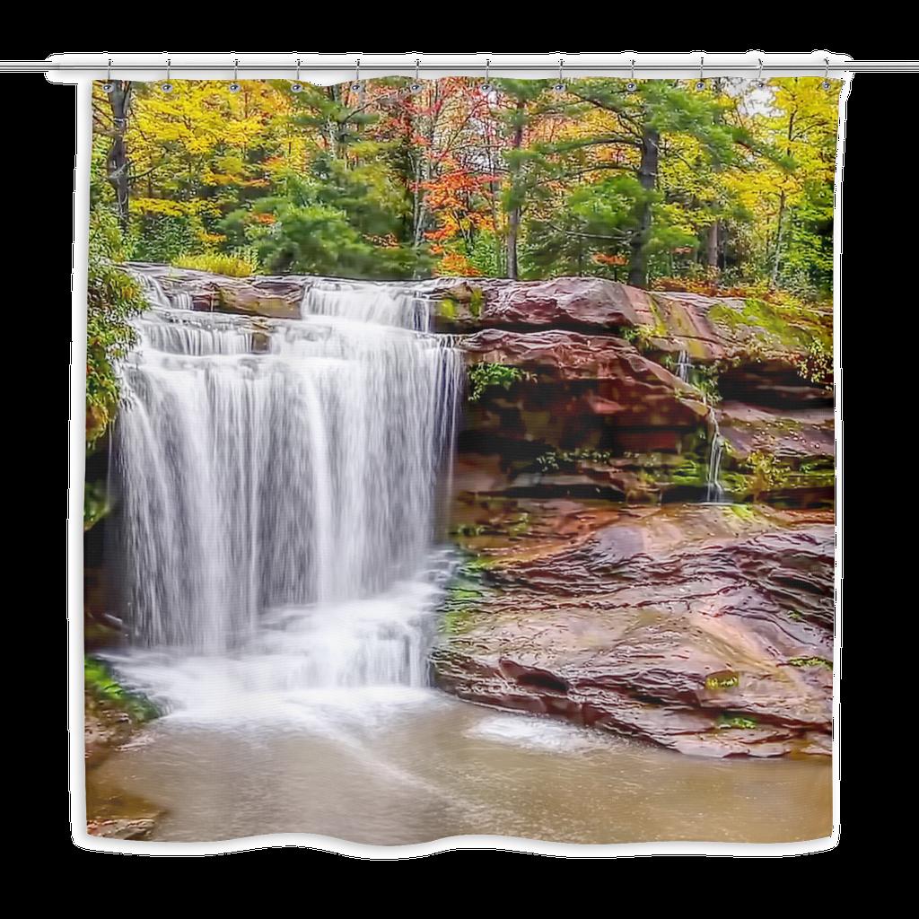 Natures Waterfall Waterfall Waterfall Shower Nature