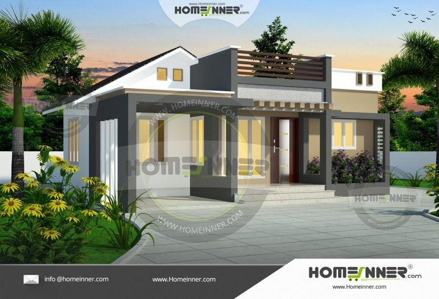 Hind 6090 Indianhomedesign Com Modern Style House Plans Architectural House Plans Modern Bungalow House
