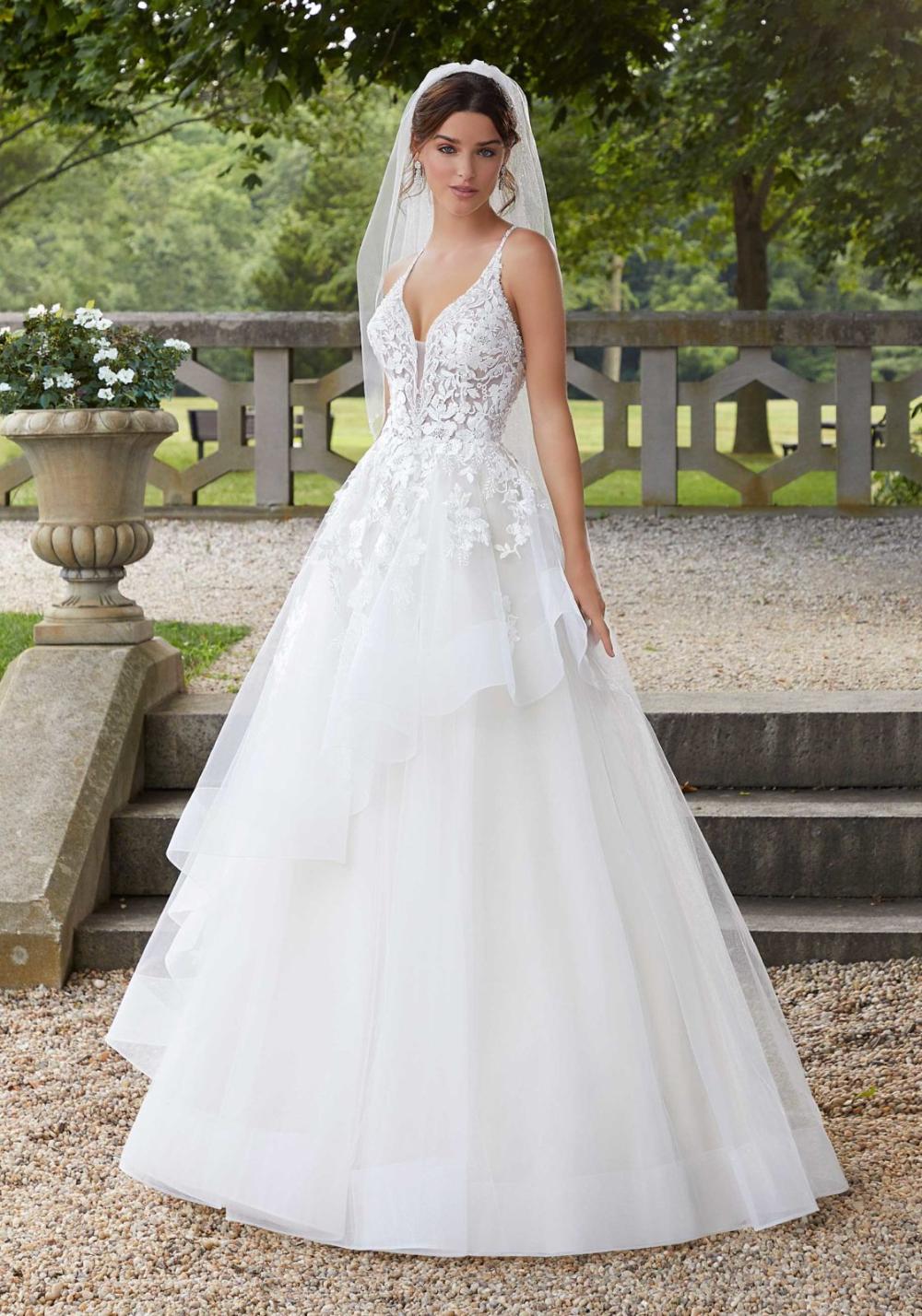 Sahara Wedding Dress   Morilee   Wedding dresses, A line wedding ...