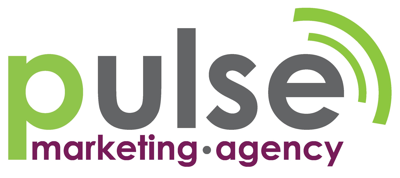Pulse Marketing Agency Logo Pulse Marketing Logo Design With