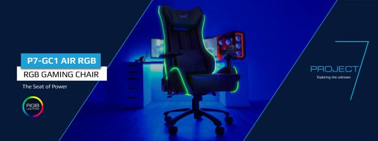 Amazing Aerocool P7 Gc1 Air Rgb Gaming Chair With Remote Control Alphanode Cool Chair Designs And Ideas Alphanodeonline