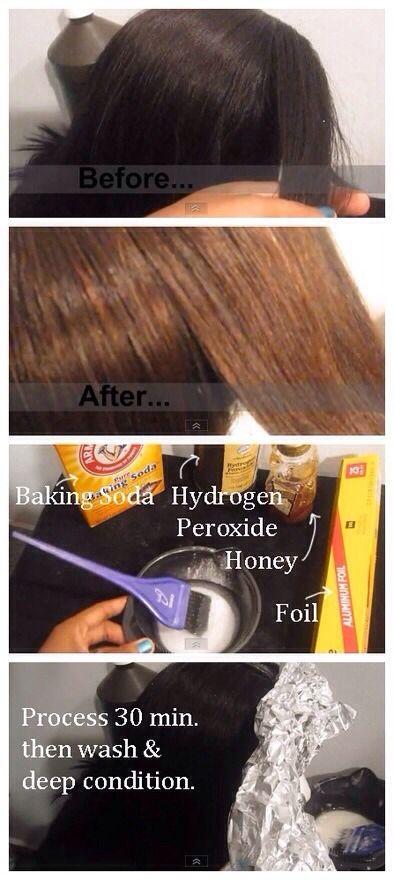 How To Lighten Hair At Home Hair Pinterest Hair Style Hair