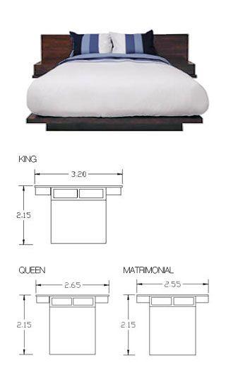 Cabecera bur s y base de cama perfectos la base es muy for Medidas de base de cama matrimonial