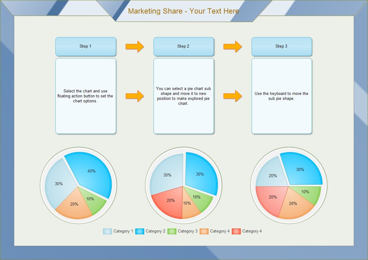 Market share pie chart gives a general idea of the size of a company market share pie chart gives a general idea of the size of a company to its nvjuhfo Image collections