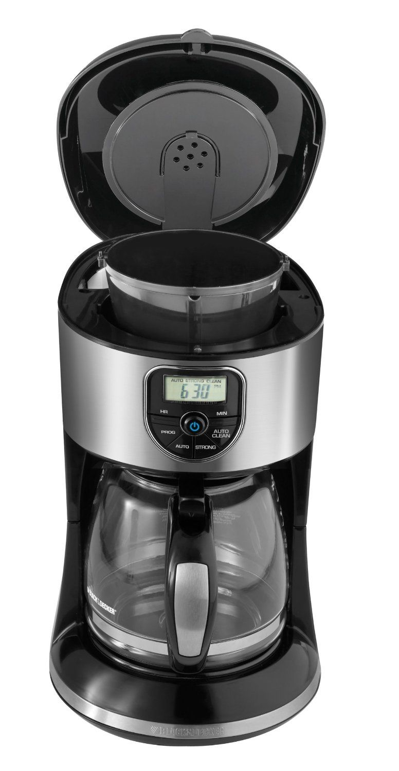 Black and decker coffee maker 12 cup programmable - Black Decker Cm4000s 12 Cup Programmable Coffeemaker