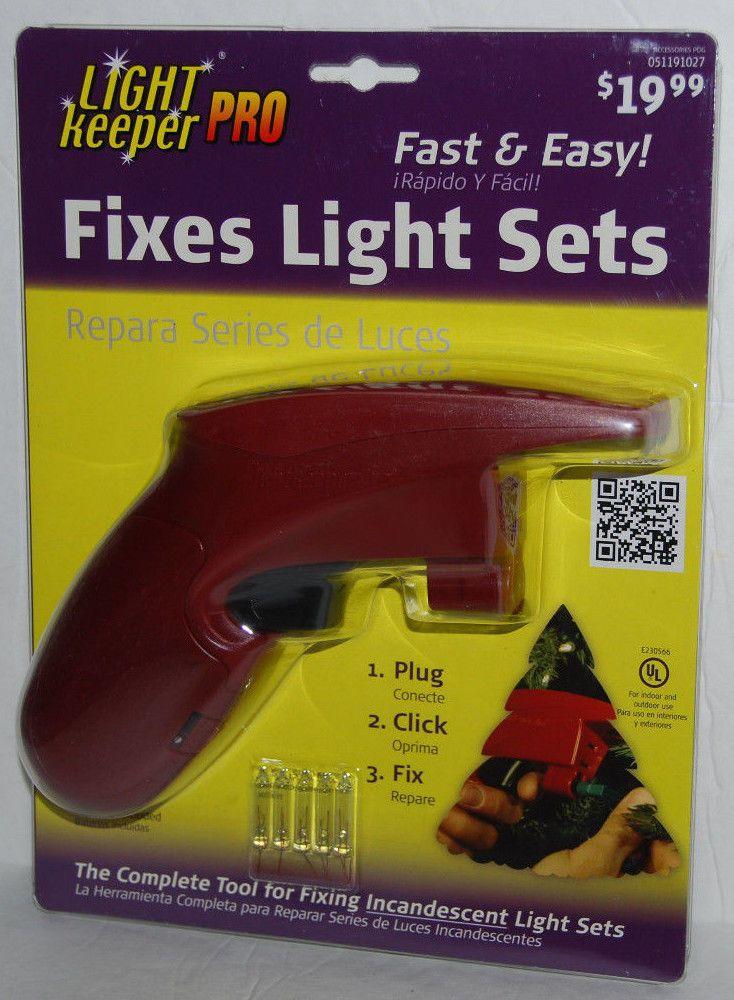 Light Keeper Pro Fix Christmas Tree Lights Repair Bulb With 20
