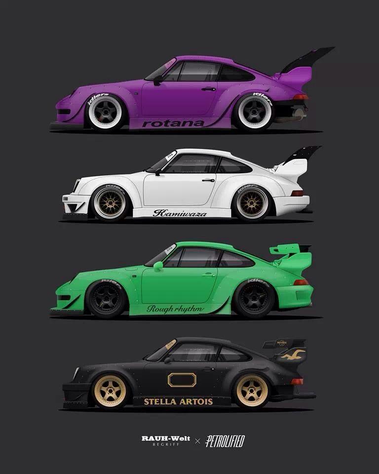 Rwb Porsche Porsche Car Porsche 964