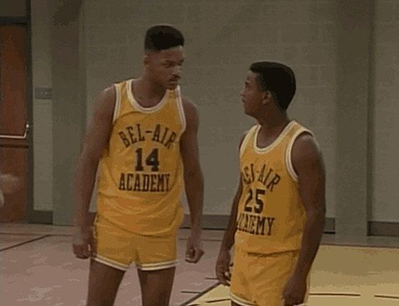 Fresh Prince Bel Air Academy Stitched Jersey  14 Will Smith Choose ... dae947f3d41d