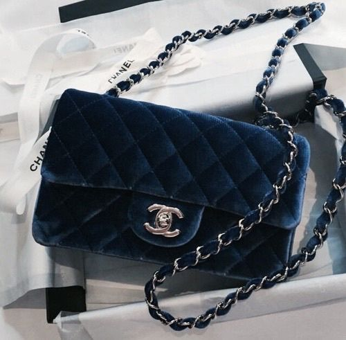 Blue suede - chanel boy bag  7e362ca2cf