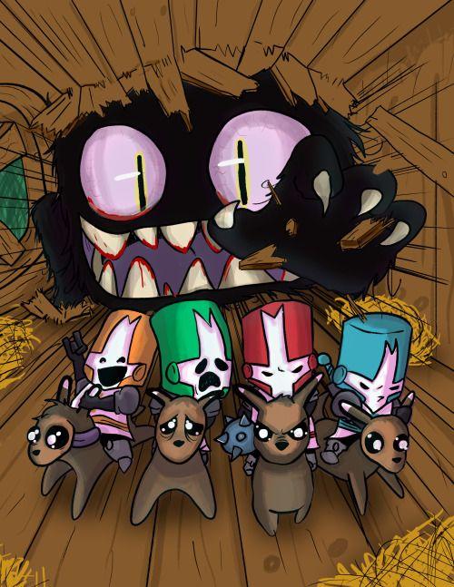 Behemoth Fan Art Tumblr Castle Crashers Fan Art Behemoth