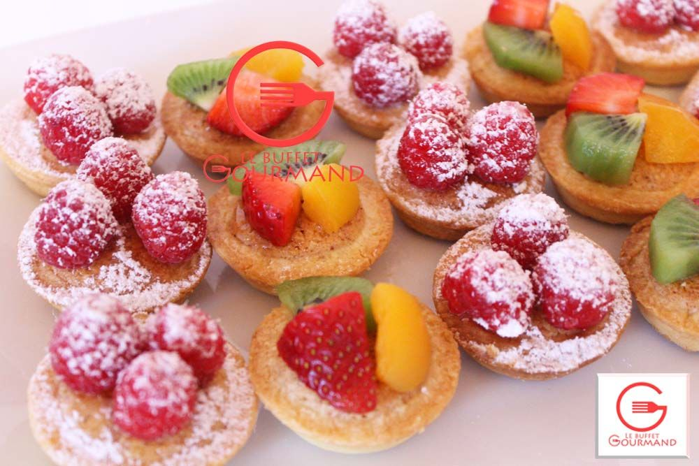 Mini fruit tarts / Mini tartelette aux fruits | Sweet ...