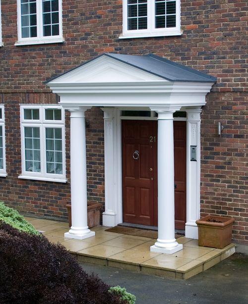 Best Flat Roof Dormer Grp Window Surround Portico 400 x 300