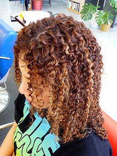 Long Hair Tight Curls Spiral Perm Spiral Perm Spiral Perm Long Hair Curls For Long Hair