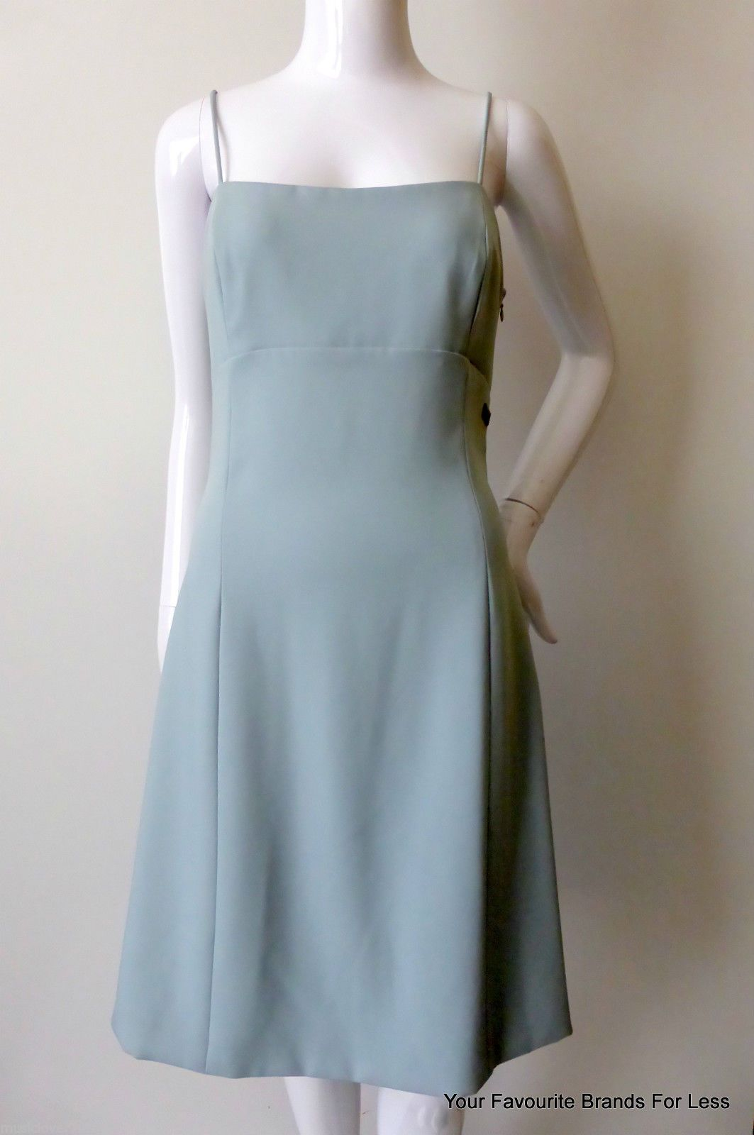 Karl Lagerfeld Dress Size AU 8 - 10 US 4 - 6 IT 40 Light Blue Made ...