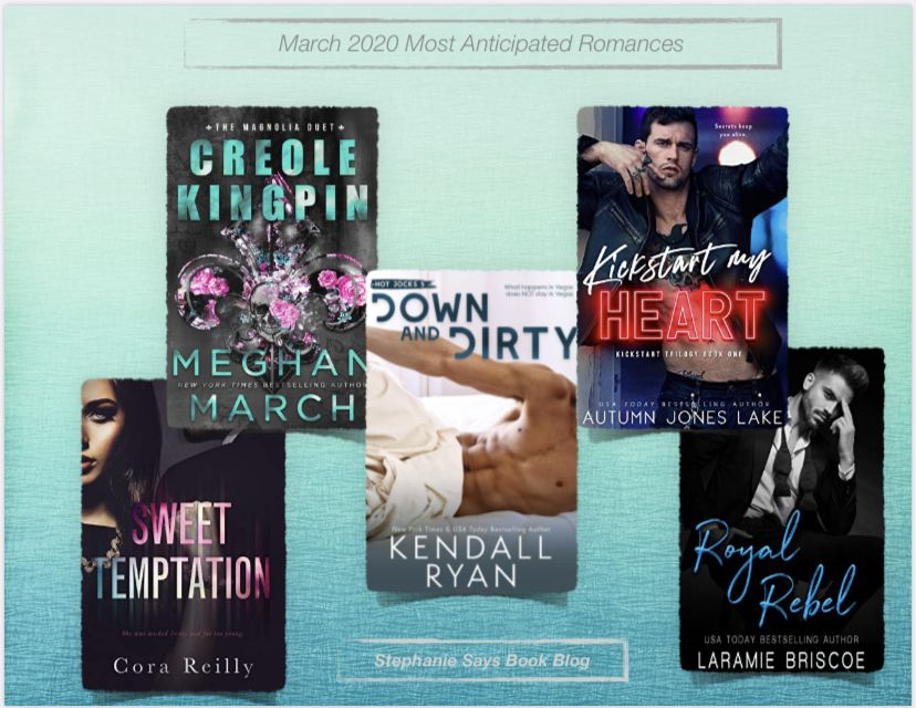 March 2020 anticipated romance releases add them to your