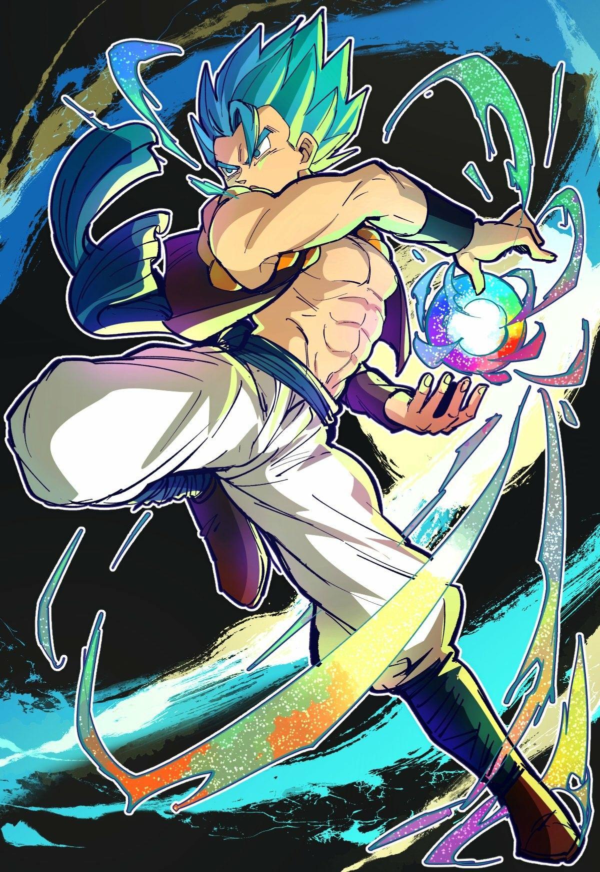Gogeta Mopungshel Anime Dragon Ball Dragon Ball Goku Dragon Ball