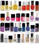 variety of nail polish bottles
