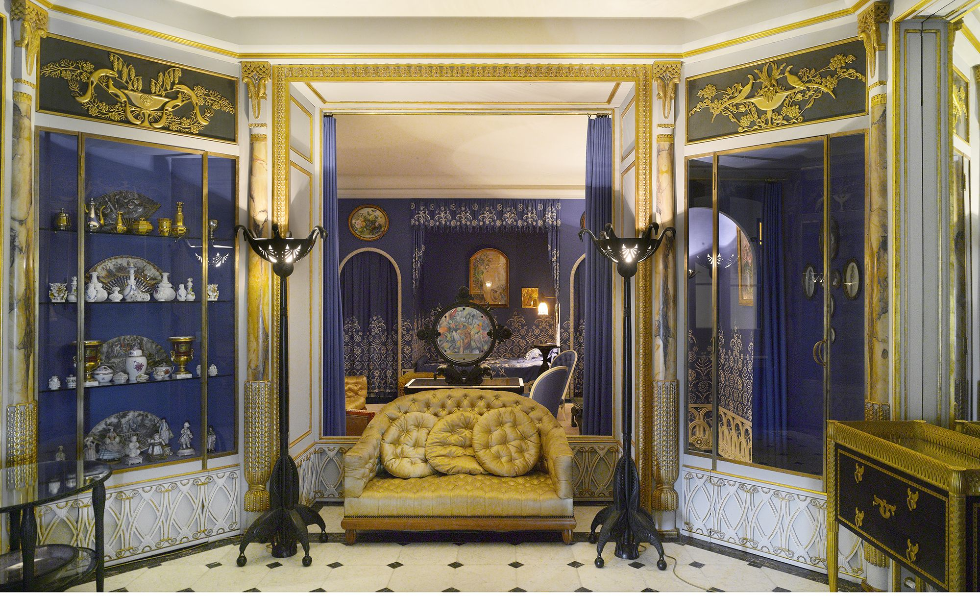 Jeanne Lanvin s Paris Apartment decorated between 1924 and 1925