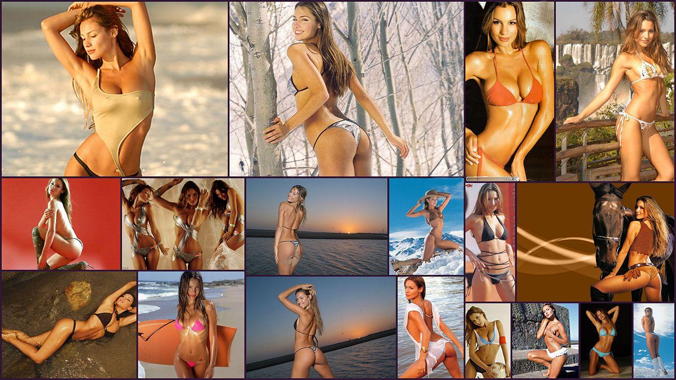 Pampita, collage