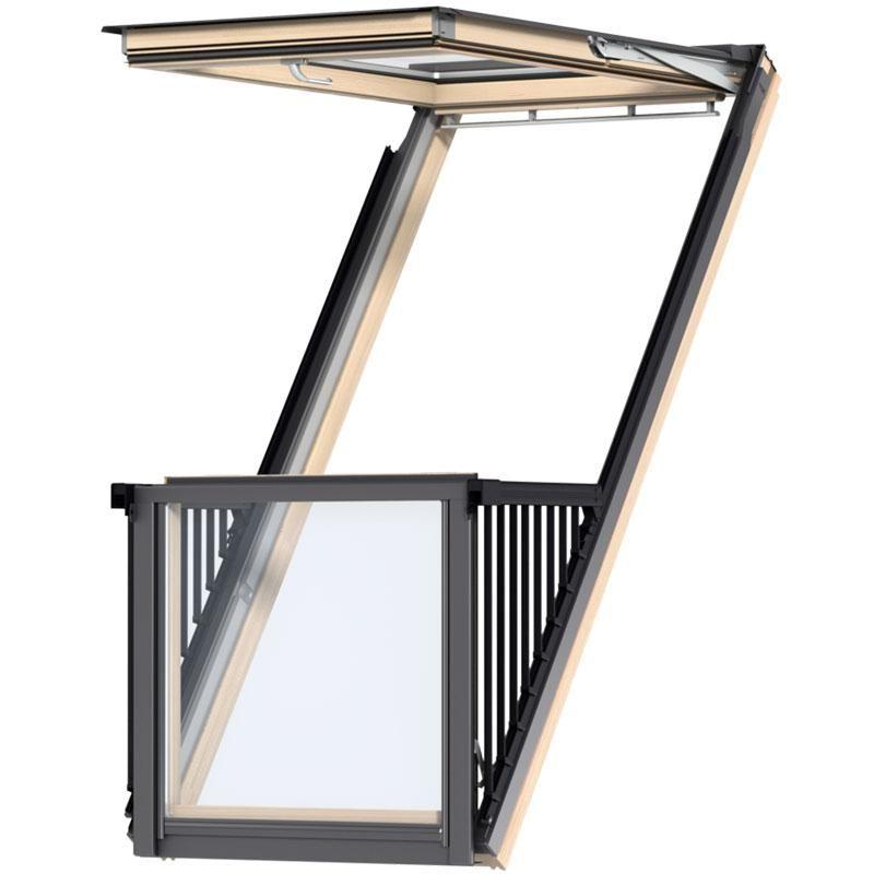 Velux Cabrio Balcony Roof Window Gdl Ki N Tr C