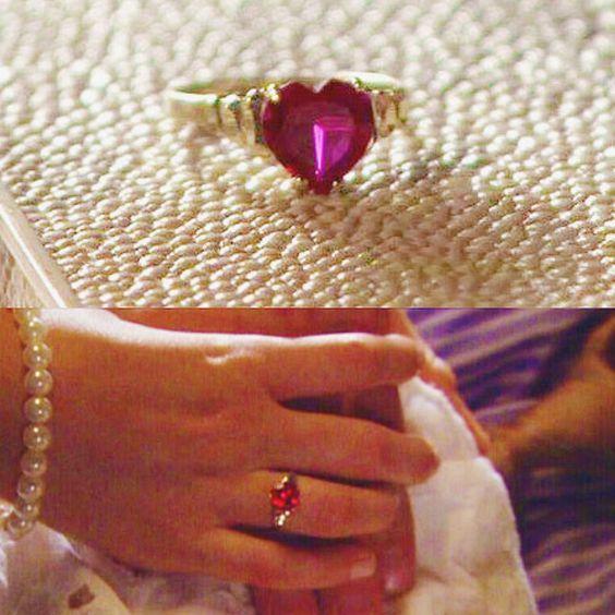 80d7a4172e2c0 Gossip girl – Blair Waldorf ruby ring | Cute little things in 2019 ...