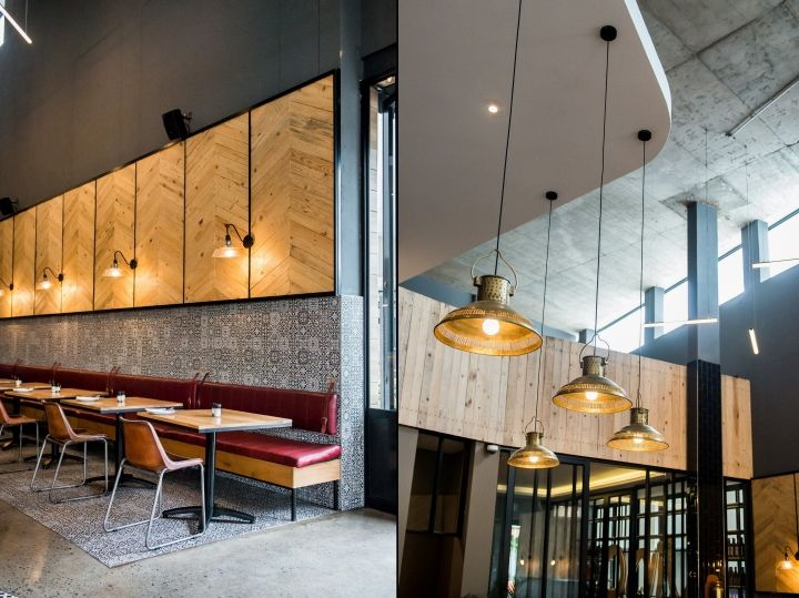 Piza E Vino By Inhouse Brand Architects Pretoria South Africa Retail Design Blog