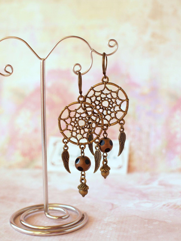 dreamcatcher earrings dream catcher earrings dream-catcher