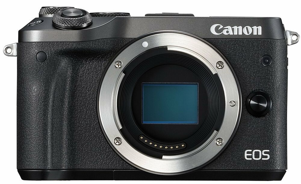 Canon Eos M6 Digital Camera Body Only Black Free Shipping