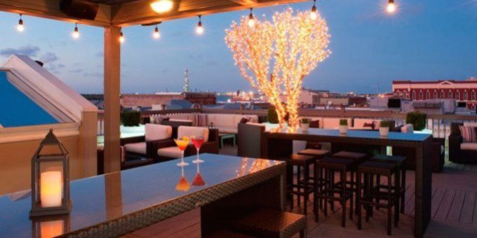 Roof Top Bars Tremont House Hotel Rooftop Bar Outdoor Deco