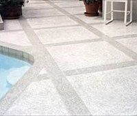 Cool Decking Colored And Textured Concrete Surface