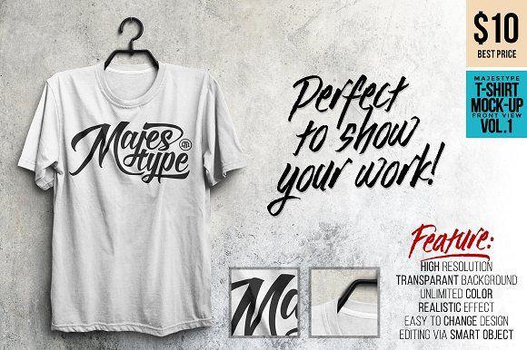 Black T Shirt Mockup Vector