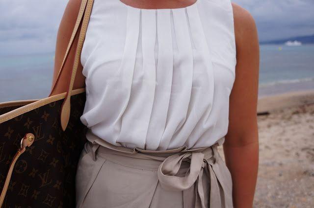 Nanne: Bow Skirt