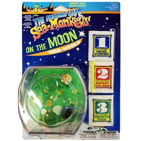 Sea Monkeys On The Moon Mini World Walmart Com Sea Monkeys Monkey World Sea