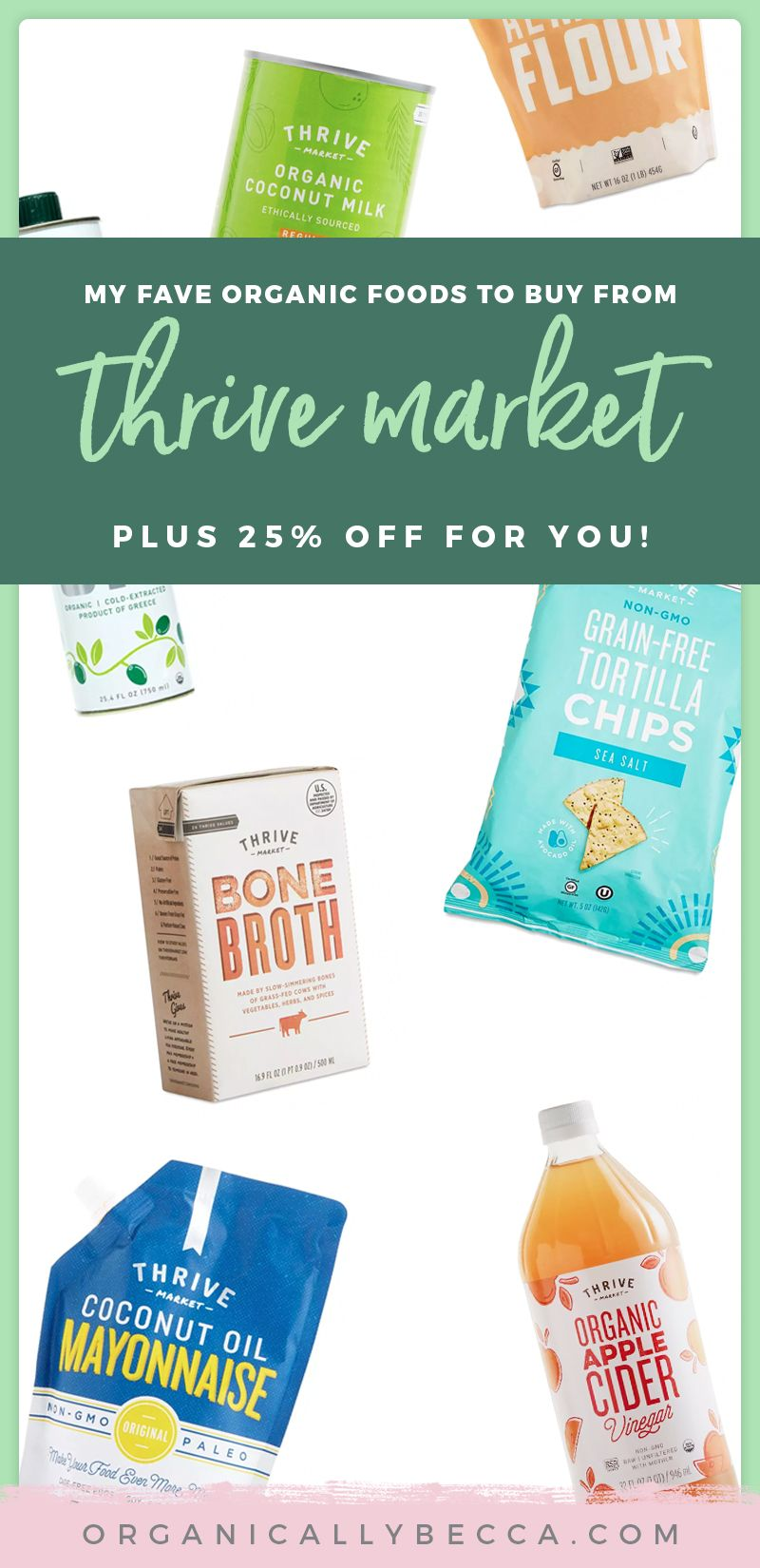 How I Save on Natural, Organic Food with Thrive Market